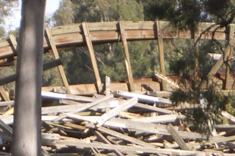 Bush beast demolition wonderland history for Demolition wood for sale