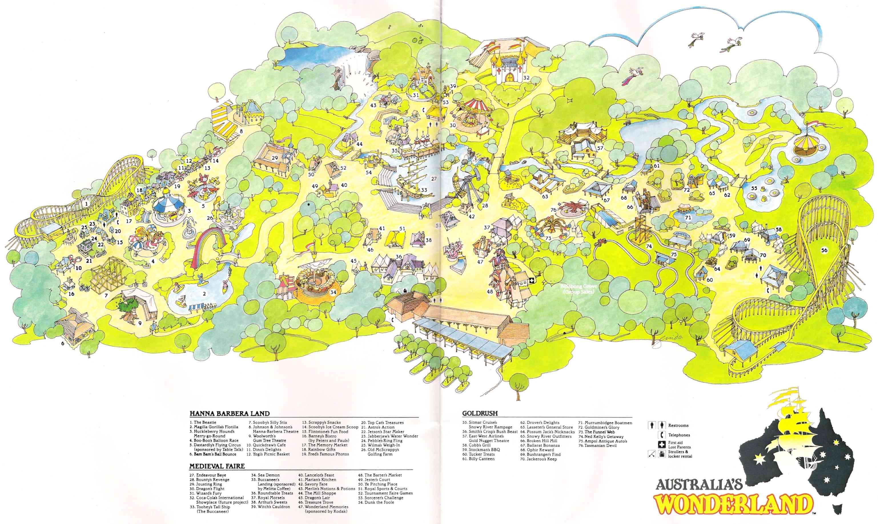 1985 park map